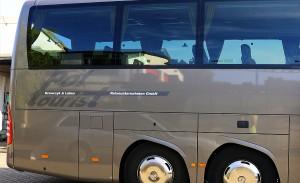 Busbeschriftung Mercedes Bus