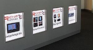 led reklame beleuchtet