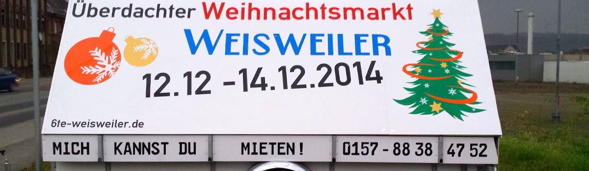 Fahrzeugbeschriftung Anhänger Eschweiler