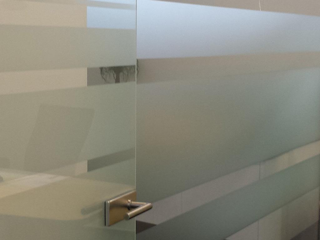 Sichtschutz Milchglasfolie